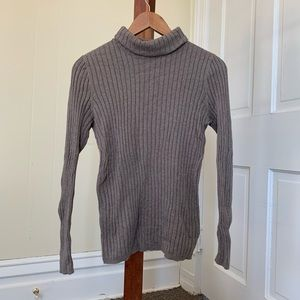 Sonoma Fitted Turtleneck Top